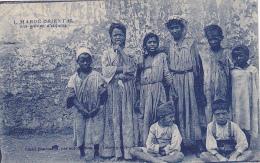 Maroc Oriental - Un Groupe D'enfants - Circulé 1927, Sous Enveloppe - Marocco