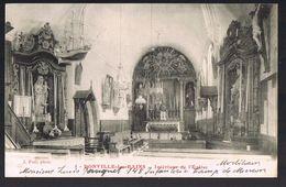 DONVILLE - Les - BAINS . Intérieure De L'Eglise . - Frankreich