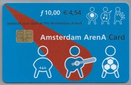 NL.- Telefoonkaart. 10 Gulden. AMSTERDAM. ARENA CARD. VOETBAL. AA01678443 - Sport