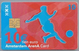NL.- Telefoonkaart. 10 Gulden. AMSTERDAM. ARENA CARD. VOETBAL. - Sport