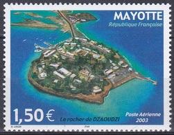 Mayotte 2003 Landschaften Landscape Stadt Städte Festungen Felsen Von Dzaoudzi, Mi. 148 ** - Mayotte (1892-2011)