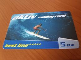 Best Line - Surfer Aktiv 5 Euro    - Little Printed   -   Used Condition - Deutschland