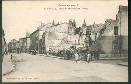 Guerre 1914-1915 - Maisons Détruites Rue Castara - Luneville