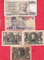 Pays Du Monde 10 Billets état Voir Scan  Lot N °420 - Coins & Banknotes