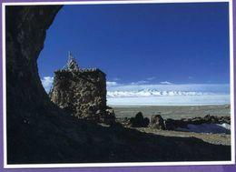 Asie - Tibet - Frozen Namtso-lake - Gefrohrener Namtso-See - Tibet