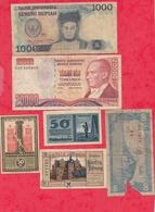 Pays Du Monde 10 Billets état Voir Scan  Lot N °421 - Coins & Banknotes