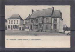 CHIEVRES - ANCIEN CHATEAU DU COMTE D'EGMONT   1912 - Chièvres