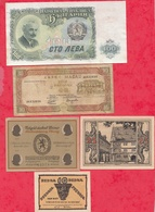Pays Du Monde 10 Billets état Voir Scan  Lot N °423 - Coins & Banknotes