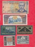 Pays Du Monde 12 Billets état Voir Scan  Lot N °425 - Coins & Banknotes