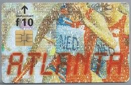NL.- Telefoonkaart. PTT TELECOM. 10,00 Gulden. ATLANTA, 1996. Olympische Spelen 19.07 - 04.08 '96. A422 - Sport