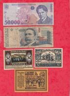 Pays Du Monde 10 Billets état Voir Scan  Lot N °428 - Coins & Banknotes