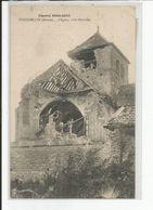 COURMELOIS    L' Eglise Coté Nord Est - France
