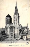 [DC11699] CPA - FRANCIA - LISIEUX - LA CATHEDRALE - Viaggiata - Old Postcard - Lisieux