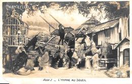 [DC11656] CPA - CHANTECLER - ACTE I - L'HYMNE AU SOLEIL - Non Viaggiata - Old Postcard - Teatro