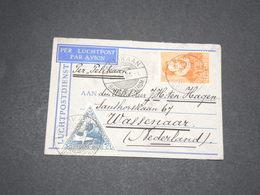 INDES NEERLANDAISES - Enveloppe De Batavia Pour Wassenaar En 1933 , Affranchissement Plaisant -  L 13746 - Indes Néerlandaises