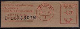 Schach Chess Ajedrez échecs - Deutschland Germany - Freistempel - Deutsche Schachzeitung - Schach