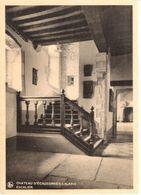 Château En Belgique - CPA - Château D'Ecaussinnes-Lalaing - Escalier - Châteaux