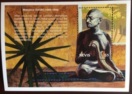 Nevis 1999 Famous People Gandhi Minisheet MNH - St.Kitts And Nevis ( 1983-...)