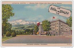 Colorado Springs - Cpa / Acacia Hotel. - Colorado Springs