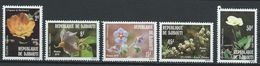 Djibouti YT 504-508  XX / MNH Fleur Flower - Djibouti (1977-...)