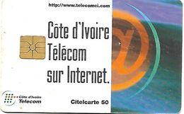 @+  Cote D'Ivoire - Citelcarte - Télécom Sur Internet (Gem1A) - Ivory Coast