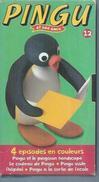 """VHS / K7 Vidéo    """"  PINGU ET SES AMIS - PINGU ET LE PINGOUIN HANDICAPE   """" - Dessins Animés"""