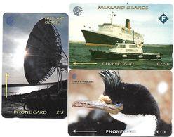 @+ Iles Falkland - Lot De 3 Cartes - Falkland Islands