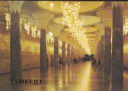 OUZBEKISTAN---capitale TASHKENT--lenin Square Metro Station--voir  2 Scans - Ouzbékistan