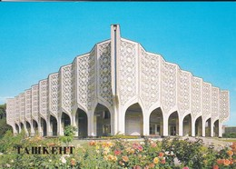 OUZBEKISTAN---capitale TASHKENT--exhibition Hall Of The Uzbek Artists Union---voir  2 Scans - Uzbekistan