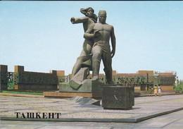 OUZBEKISTAN---capitale TASHKENT--courage Memorial--voir  2 Scans - Uzbekistan