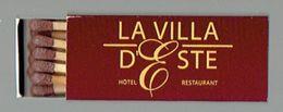 Petite Boîte D'allumettes La Villa D'Este, Christian Et Dominique Simillion La Louvière - Boites D'allumettes
