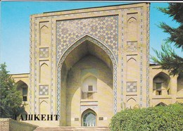 OUZBEKISTAN---capitale TASHKENT--the Koukeldash Madrasah XVI  Century--voir  2 Scans - Uzbekistan