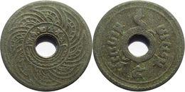 Thaïlande - Rama VI (1910-1925) - 5 Satang 2456 (1913) - Thaïlande