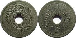 Thaïlande - Rama VI (1910-1925) - 5 Satang 2462 (1919) ๖ Long - Thaïlande
