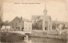 Jemelle : Place Sainte-Marguerite Et L'Eglise - Rochefort
