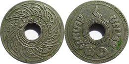 Thaïlande - Rama VI (1910-1925) - 10 Satang 2461 (1918) - Thaïlande