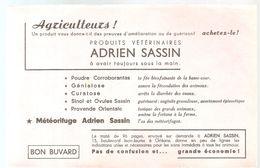 Buvard ADRIEN SASSIN  Produits Vétérinaires ADRIEN SASSIN à Avoir Toujours Sous La Main - Farm