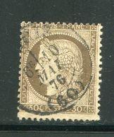 Y&T N°56- Cachet à Date De PARIS Type 17 Du 10 Mai 1876 - 1871-1875 Ceres