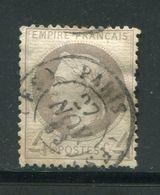 Y&T N°27- Cachet à Date Des Bureaux De PARIS (FS) Du 27 Novembre 1869 - 1863-1870 Napoléon III Lauré
