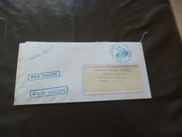 1967 Lettre France Par Valise Diplomatique Par Avion Affaires étrangères Coopération Pour Mali Bamako - Curiosidades: 1960-69 Cartas