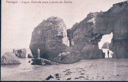 POSTAL PORTUGAL - LAGOS - ENTRADA PARA A PRAIA DA BATATA - ZAMBRANO GOMES - Faro