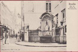 Rue De L'Etuve Et Manneken Pis Manneke Belgique Belgie Bruxelles Brussel Stoofstraat - Monuments, édifices