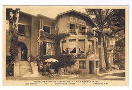 CAP D ANTIBES  HOTEL PENSION DE LA GAROUPE - Cap D'Antibes - La Garoupe