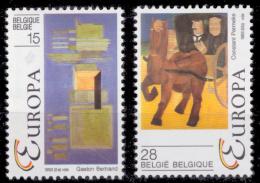 Belgium 2501/2** Europa  MNH - Belgique