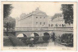 BELOEIL - Le Château Du Prince De Ligne (face Latérale) - Delsart 3 - 1905 - Beloeil
