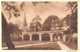 Bruxelles - CPA - Anderlecht - Maison D'Erasme - Façade Postérieure Et Jardin - Anderlecht