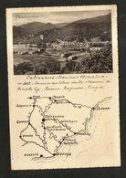 CALIZZANO (SV) - PANORAMA ( Spedita 1938 ) - Savona