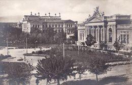 BASARABIA : CHISINAU / KISHINEV / KICHINEW : SQUARE Du PALAIS DE JUSTICE - CARTE VRAIE PHOTO / REAL PHOTO ~ 1920 (ab513) - Moldavie