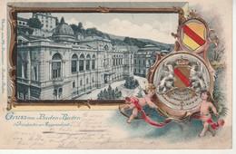 Gruss Aus Baden Baden.Friederichs Augustabad. - Baden-Baden