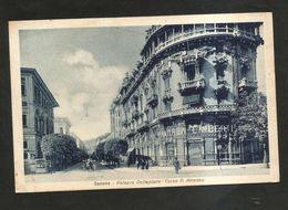 SAVONA - Palazzo DELLEPIANE / Corso Principe AMEDEO ( Spedita 1931 ) ANIMATA - Savona